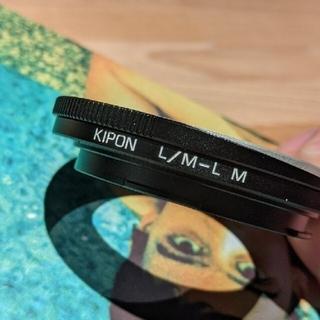 ライカ(LEICA)のKIPON キポン L/M-L M マウントアダプター マクロヘリコイド付(その他)