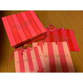ヴィクトリアズシークレット(Victoria's Secret)のヴィクシー ショップ 袋 箱(ショップ袋)