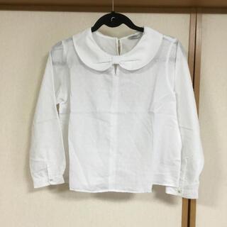 プードゥドゥ(POU DOU DOU)の長袖ブラウス 白(シャツ/ブラウス(長袖/七分))