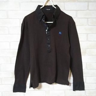 バーバリーブラックレーベル(BURBERRY BLACK LABEL)のBURBERRY BLACK LABEL ポロシャツ Mサイズ(ポロシャツ)