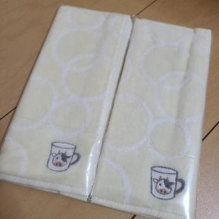 シャルレ(シャルレ)の新品未使用 シャルレ ミニタオル 干支 牛 2枚セット(タオル/バス用品)