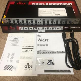 dbx 266xs コンプレッサー【新品】(エフェクター)