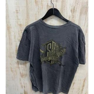 ステューシー(STUSSY)のSTUSSY ステューシー Tシャツ 半袖 国旗 剣 プリント バックプリント(Tシャツ(半袖/袖なし))