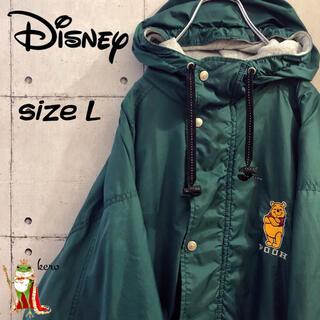ディズニー(Disney)の【激レア】ディズニー クマのプーさん ナイロンジャケット 人気カラー(ナイロンジャケット)