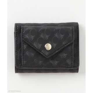 ザラ(ZARA)のActually  財布 ミニ財布 折りたたみ ブラック 三つ折り(財布)