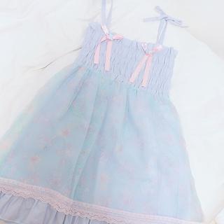 ナイルパーチ(NILE PERCH)の匿名配送 ♡ NILE PERCH JSK 美品(ミニワンピース)