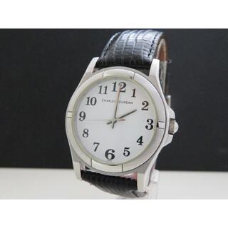 CHARLES JOURDAN - CHARLES JOURDAN 腕時計 シンプルデザイン 白文字盤