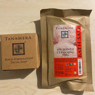 コスメキッチン(Cosme Kitchen)のタナメラ フェイシャルソープ ブラック マレーシア(洗顔料)