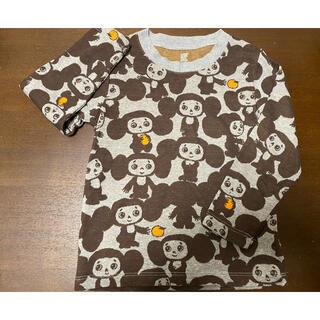 グラニフ(Design Tshirts Store graniph)のグラニフ チェブラーシカ ロンT  120 中古(Tシャツ/カットソー)