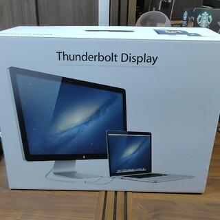 アップル(Apple)のApple Thunderbolt Display MC914jb 27インチ(ディスプレイ)
