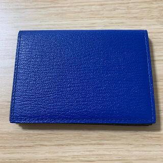L'arcobaleno ラルコバレーノ 名刺入れ カードケース ブルー(名刺入れ/定期入れ)