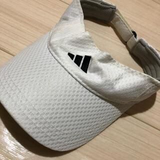 アディダス(adidas)のadidas サンバイザー(サンバイザー)