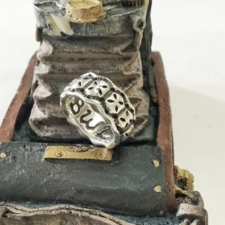 ビルウォールレザー(BILL WALL LEATHER)の中古品 BILL WALL LEATHER ミニクロスリング(リング(指輪))