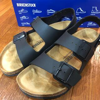 BIRKENSTOCK - ビルケンシュトック ミラノ ブラック 40  26.0