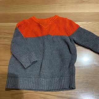 ベビーギャップ(babyGAP)の長袖バイカラーセーター(ニット/セーター)