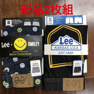 リー(Lee)のLEE ボクサーブリーフパンツ 2枚組 正規品 Sサイズ 新品タグ付 最終値下げ(ボクサーパンツ)