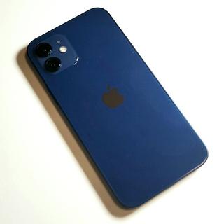 アイフォーン(iPhone)のApple iPhone 12 ブルー SIMフリー 128GB(スマートフォン本体)