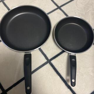 イケア(IKEA)の新品未使用◆フライパン2個セット(鍋/フライパン)