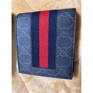 グッチ(Gucci)のGUCCI GGスプリーム ニューウェブ コインウォレット(折り財布)