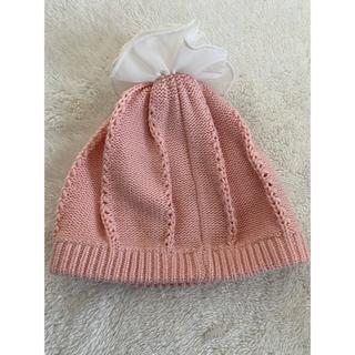 ブランシェス(Branshes)の70cm前後 レギンスパンツ 赤ちゃんニット帽子 女の子 ブランシェス H&M(帽子)