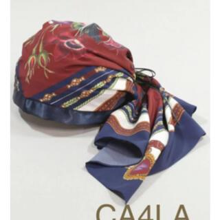 カシラ(CA4LA)のカシラ スカーフ ヘアバンド CA4LA LILY OF THE VALLEY(ヘアバンド)