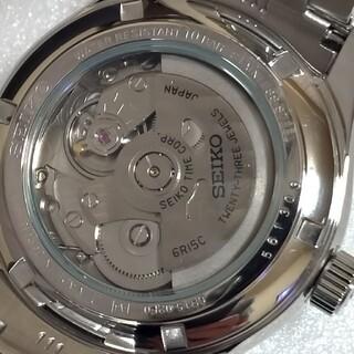 セイコー(SEIKO)のSEIKOセイコー メカニカルプレサージュ  6R15-02F0/SARX001(腕時計(アナログ))