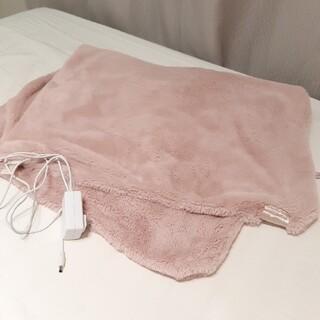 フランフラン(Francfranc)のフランフラン 電気毛布 電気ブランケット ピンク(電気毛布)