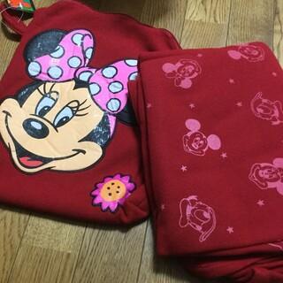 ディズニー(Disney)のディズニー ブランケット レトロ ミニー(おくるみ/ブランケット)