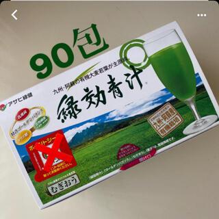 アサヒ(アサヒ)の緑効青汁☆90包(青汁/ケール加工食品)