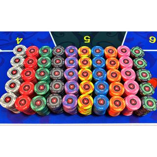 EPT ポーカーチップ 200枚 (トランプ/UNO)