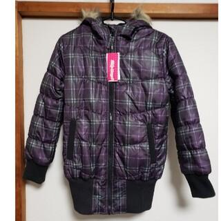 シマムラ(しまむら)の値下げ 新品 タグ付き ジャンパー ブルゾン フード 防寒 130 140(ジャケット/上着)