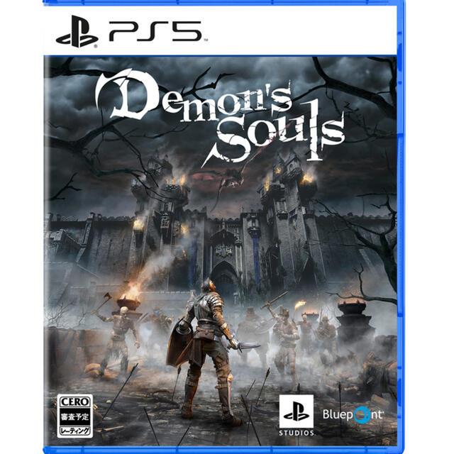 PlayStation(プレイステーション)のこうちゃん Demon's Souls PS5 デモンズソウル エンタメ/ホビーのゲームソフト/ゲーム機本体(PCゲームソフト)の商品写真