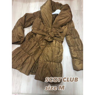スコットクラブ(SCOT CLUB)の⑧②④スコットクラブ ダウンジャケッsizM(ダウンコート)
