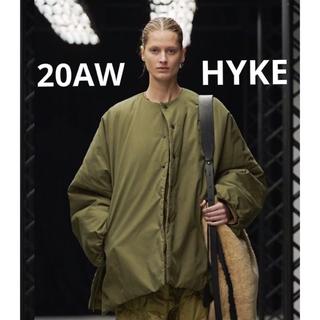 ハイク(HYKE)のhyke 今期 ビッグ ジャケット コート(ノーカラージャケット)
