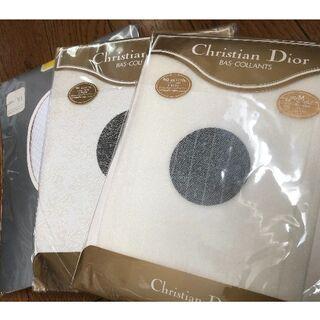 クリスチャンディオール(Christian Dior)の**Christian Dior**  柄入りストッキング(M)…3足(タイツ/ストッキング)