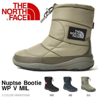 ザノースフェイス(THE NORTH FACE)のノースフェイス ヌプシブーティー(ブーツ)