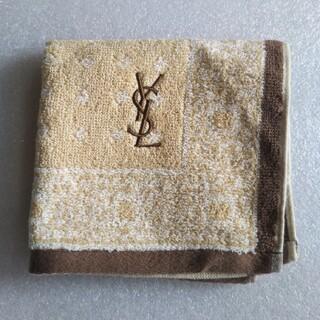 イヴサンローランボーテ(Yves Saint Laurent Beaute)のイブサンローラン タオルハンカチ【新品未使用】(ハンカチ)