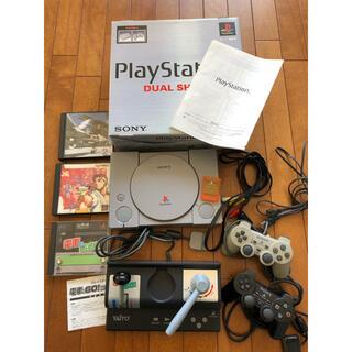 プレイステーション(PlayStation)の電車でGO!コントローラー&PS1 ソフトセット(その他)