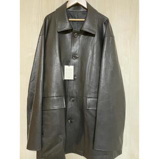 サンシー(SUNSEA)の定価以下!!【stein】Fake Leather Car Jacket(レザージャケット)