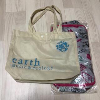 アースミュージックアンドエコロジー(earth music & ecology)のアースミュージックエコロジー バック オルビス ポーチ(エコバッグ)