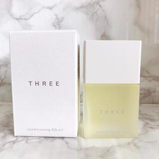 スリー(THREE)の未使用 THREE コンディショニングSQオイル 美容液(美容液)