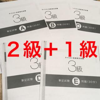 ネイリスト技能検定 2級+1級 問題集&解答  (その他)