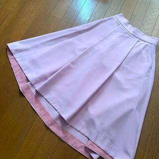 スタイルデリ(STYLE DELI)の美品 STYLE DELI ミモレ丈 フレアスカート(ひざ丈スカート)