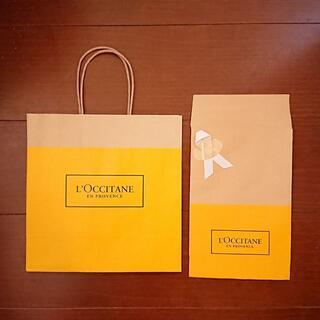 L'OCCITANE - 【2袋】ロクシタン 紙袋 ラッピングに