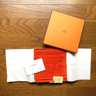 Hermes - HERMES エルメス ハンドタオル 箱、紙袋付き