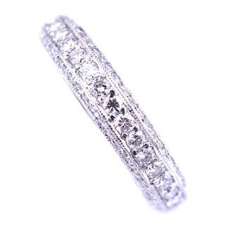 ポンテヴェキオ(PonteVecchio)のポンテヴェキオ オール 全面 ダイヤモンド リング K18 WG(リング(指輪))