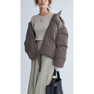 ミラオーウェン(Mila Owen)のミラオーウェン 裾リボンダウンジャケット(ダウンジャケット)