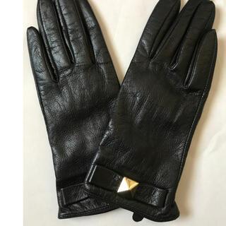 ケイトスペードニューヨーク(kate spade new york)のケイトスペード レディース 革手袋 レザー手袋(手袋)