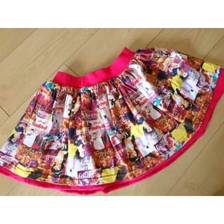 エックスガールステージス(X-girl Stages)のエックスガール プリンセス スカート  110(スカート)