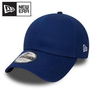 ニューエラー(NEW ERA)のニューエラ キャップ 青 ベーシック アジャスタブル 無地 ブルー(キャップ)